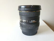 SIGMA EX 10-20mm f/4-5.6 DC HSM for Canon EOS digital cameras