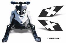 Headlight Eye Graphics Kit Decal Cover For Ski Doo Rev XP Summit 08-12 LIGHTSOUT