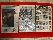 BALTIMORE ORIOLES NEWSPAPER LOT OF 6 RIPKEN PALMER ++