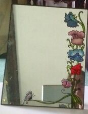 CASCADIA The Art Of Glass Mirror Sweet pea Rare Collectable New Boxed