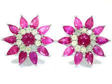 18 Carat White Gold I2 Fine Diamond Earrings