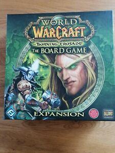 World of Warcraft Boardgame - The Burning Crusade Erweiterung wie neu
