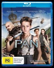 Pan (Hugh Jackman) NEW Blu-Ray (NO UV)