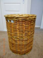 Cane Decorative Baskets with Lid