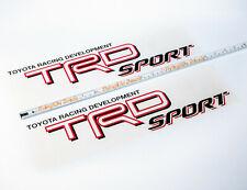 Toyota Racing Development Tacoma Tundra TRD Sport decal sticker Set 2004–2015