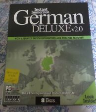 German Language Study - Instant Immersion German Deluxe v2.0 (Pc - 8 Discs)