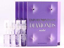 GIORGIO ARMANI EMPORIO ARMANI DIAMONDS VIOLET EDP 1.5ml .05oz x 4 SPRAY SAMPLES