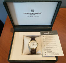 Frederique Constant Slimline Mens Watch FC235M4S5 [NEW WITH BOX/TAGS/WARRANTY!]