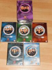 Stargate SG1 Seasons 5 - 10 box sets Region 2, fast postage