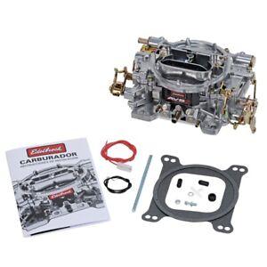Edelbrock AVS2 500 CFM Carburetor w/Manual Choke Satin Finish (Non-EGR) - ede190