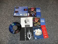 GENUINE 3DO GAME - PANASONIC / GOLDSTAR - WING COMMANDER - COMPLETE - TESTED