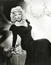MAE WEST Film Star Glossy Black & White Photo Print PICTURE