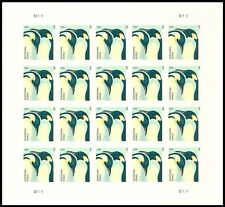 US 4989a Penguins Additional Ounce imperf NDC sheet MNH 2015