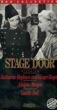 NEW VHS Stage Door:Katharine Hepburn Ginger Rogers Lucille Ball Eve Arden Menjou
