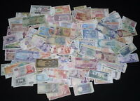 20 ALL DIFFERENT UNCIRCULATED WORLD CURRENCY BANKNOTES LOT