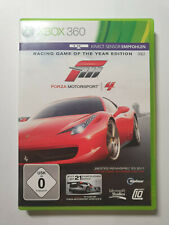 Forza Motorsport 4 Racing Game of the Year Edition (Microsoft Xbox 360, 2011)