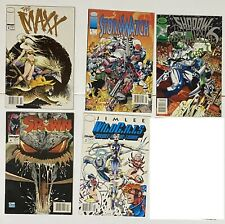 Lot of 5 Newsstand UPC Variant Image Comics Wildcats Jim Lee Maxx Spawn McFarlan