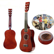 23'' MINI Basswood CONCERT ACOUSTIC GUITAR MUSICAL INSTRUMENT KIDS CHILD GIFT