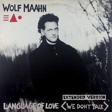 "Wolf Maahn - Language Of Love (We Don't Talk) - 12"" Maxi - K1300"