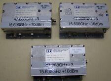 One CTI Brick Oscillator 15.696GHz = 1/3 47.0088GHz Ham Beacon Frequency 12dBm