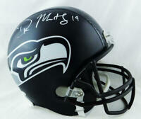 DK Metcalf Autographed Seattle Seahawks Full Size Helmet - Beckett W Auth *White