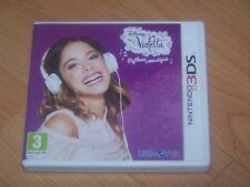 disney violetta rythme et musique   VF  2DS 3DS boite cartouche livret