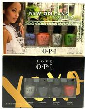 (2) Opi Mini Nail Polish Set New Orleans & Love Xoxo Collection Sets