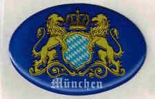 (303869) 3D-EPOXY Aufkleber - NEU Gr. 4,6 x  3 cm • München • BAYERN •