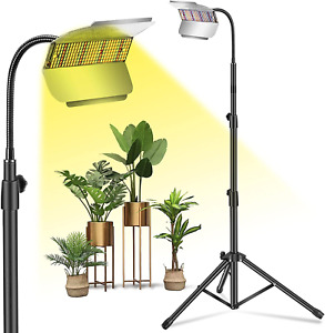 Grow Lights for Indoor Plants,Plant Growing Lamp LED Grow Light with Stand Full