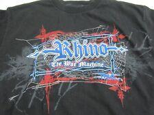 The War Machine Rhino TNA Wrestling M Medium T-shirt Rare