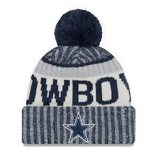 Dallas Cowboys NFL FOOTBALL new era Sideline Beanie Taglia Unica inverno berretto nuovo
