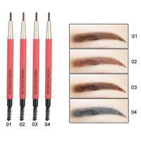 Double Heads Waterproof Eyebrow Pencil Liner Eye Brow Pen Makeup Beauty Cosmetic