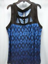 Lane Bryant Sleeveless Tank Top Blue / Black Size 14/16 - New
