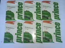 New Prince Synthetic Gut w/Duraflex 16, durable & great all around, gold, 6 pack