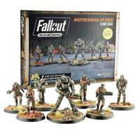 Fallout Wasteland Warfare Miniatures Brotherhood Of Steel Core Box Brand New