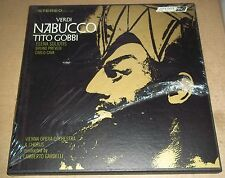 Gobbi/Suliotis/Gardelli VERDI Nabucco - London OSA 1382 SEALED