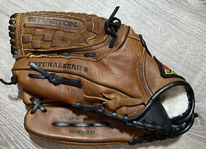 "Easton NAT40 12 1/4"" Pattern Tanned Leather Flex Action Palm Glove Left Hand Thw"