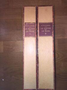 STENDHAL LE ROUGE ET LE NOIR ÉDITION LUXE LIMITÉE NUMÉROTÉE CLUB DU LIVRE 1947