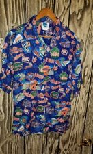 university of florida button down raton shirt short sleeve size large men