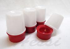 Tupperware 4x gobelet thermos coquetier Isobecher eierfreunde, rouge/blanc