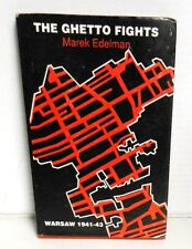 BOOK The Getto Fights Warsaw 1941-43 First Person Account op 1990 1st Ed Scarce