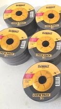 "DEWALT 50-Pieces 4-1/2"" x 1/4"" x 7/8"" METAL GRINDING WHEELS -DW4541-New"