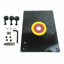 Power router tables ebay american general tool 18101 big horn 9 inch x 12 inch router table insert greentooth Images