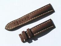 20mm Breitling 431X Band 20/18 Kalb braun brown Strap für Dornschliesse 066-20