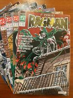 DC COMICS - RAGMAN : COMPLETE 8 ISSUE MINI SERIES - 1991 - FLEMING/GIFFEN