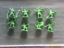 CONTE WARLORD TOWER KEEP PLAYSET RARE VIKING PROTOTYPE FIGURES #2.