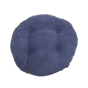 Round Chair Cushions Dining Chair Mat Home Patio Car Seat Pad Solid Color