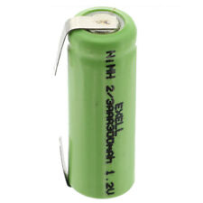 Exell 1.2V 2/3AAA 300mAh NiMH Rechargeable Battery w/ Tabs FAST USA SHIP