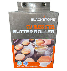 Blackstone Stainless Steel Butter Roller Griddle Accessory Spread Butter Quick