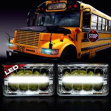 LED Headlight Headlamp Upgrade for International 3800 School Bus Blue Bird